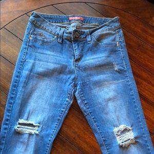 YMI Wanna Betta Butt? Blue Jeans